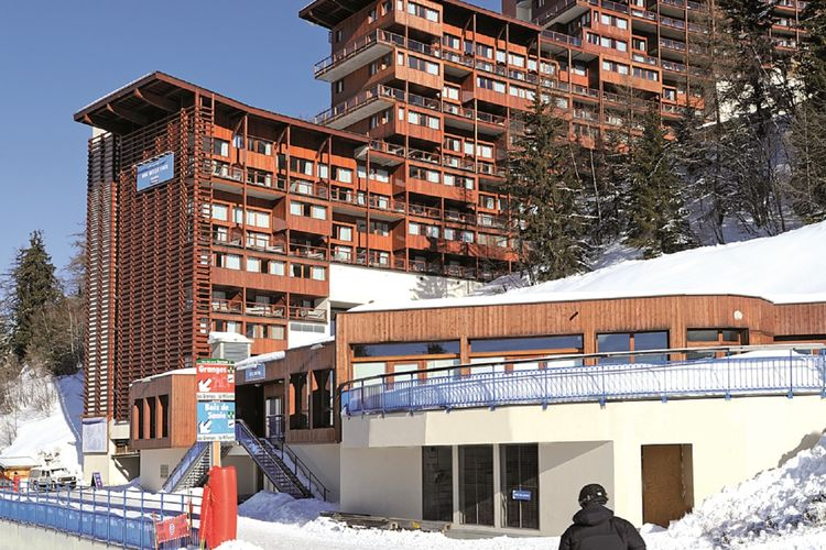 Appartement met zwembad met wifi  Arc-1600Residence Le Roc Belle Face 3