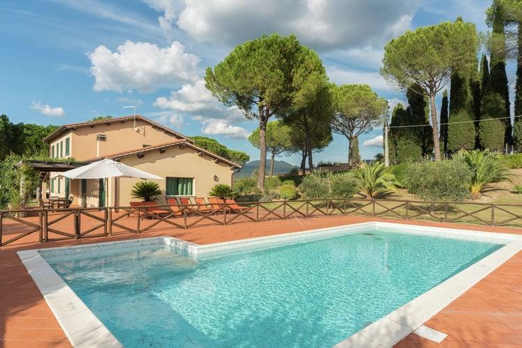 Italie | Lazio | Villa te huur in Magliano-Sabina met zwembad  met wifi 8 personen