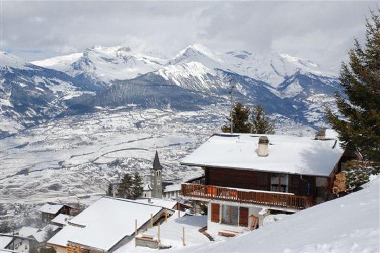 Vakantiehuizen Zwitserland | Jura | Chalet te huur in Veysonnaz   met wifi 6 personen