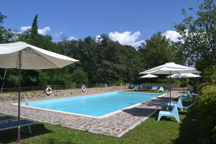 Vakantiehuizen Italie | Toscana | Appartement te huur in Greve-in-Chianti met zwembad  met wifi 3 personen