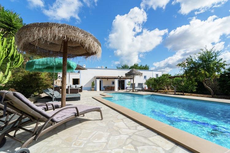 Vakantiehuizen Ibiza te huur Santa-Agnes- ES-07828-01 met zwembad  met wifi te huur