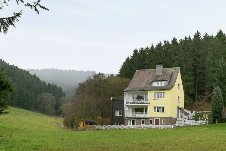 Am Naturpark Eslohe Sauerland Germany