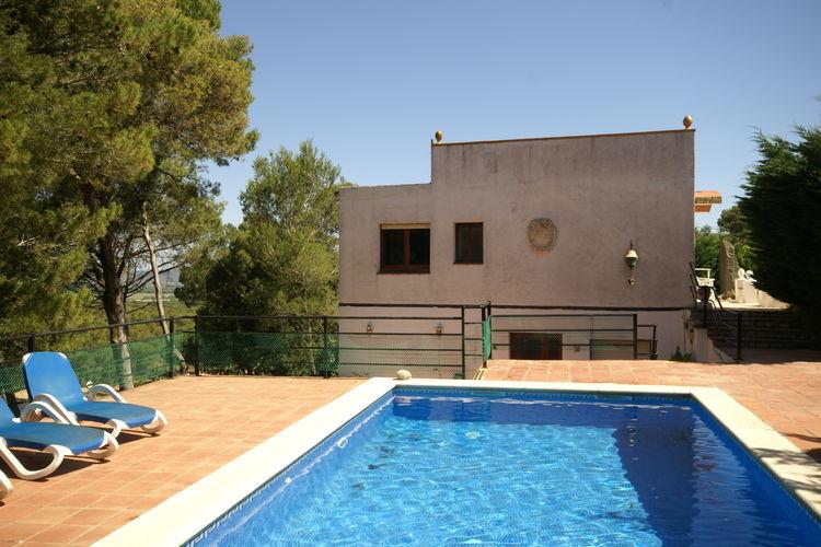 Vakantiewoning op een klein vakantiecomplex met zwembad in Playa de Pals