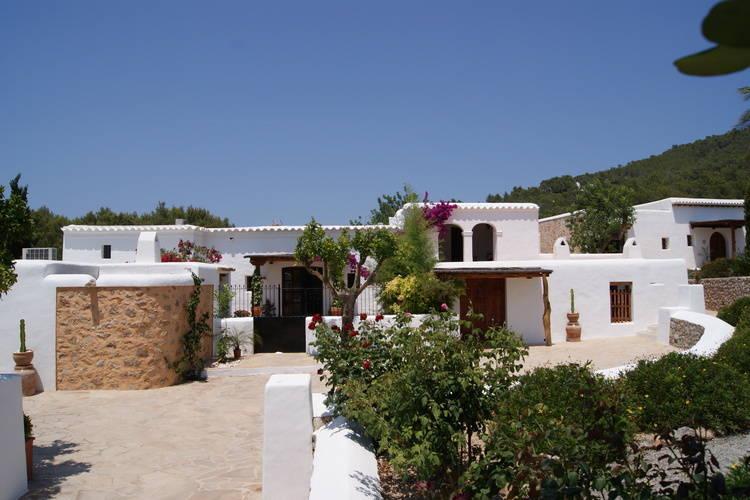 Spanje | Ibiza | Vakantiehuis te huur in San-Lorenzo met zwembad  met wifi 12 personen