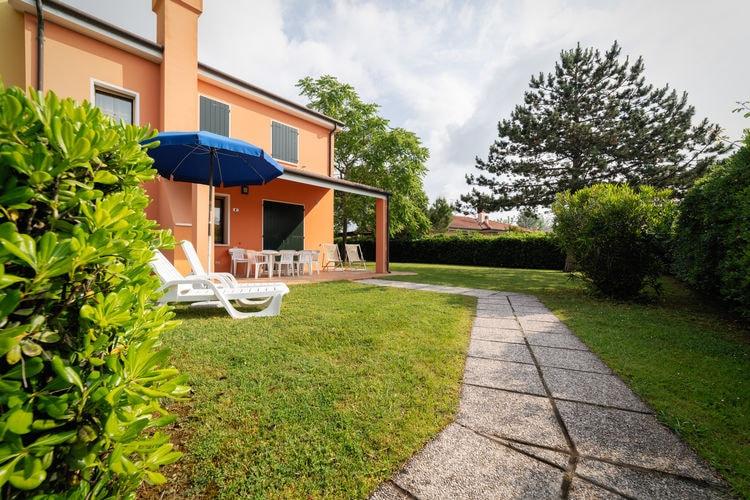 Italie | Veneto | Villa te huur in Albarella met zwembad   6 personen