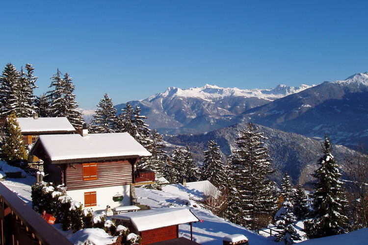 vakantiehuis Zwitserland, Jura, Arbaz-Anzère vakantiehuis CH-1974-01