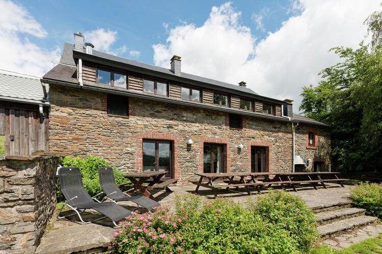 Authentieke hoeve met tuin en terras in wandel-& langlauf/skigebied de Hoge Venen
