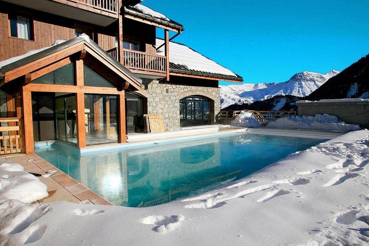 Vakantiehuizen Frankrijk | Rhone-alpes | Appartement te huur in Le-Corbier met zwembad   5 personen
