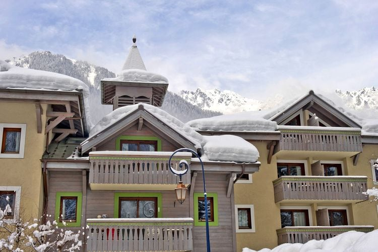 Vakantiehuizen Frankrijk | Rhone-alpes | Appartement te huur in Chamonix-Mont-Blanc met zwembad  met wifi 6 personen