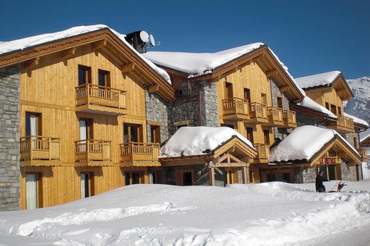 Appartement met zwembad met wifi  Rhone-alpesChalet Le Refuge 1