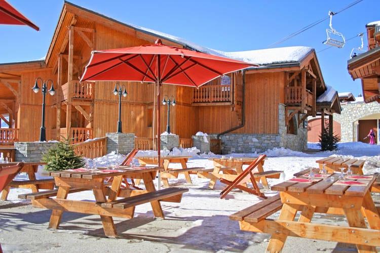 Val-Thorens Vakantiewoningen te huur Comfortabel appartement in een residence met directe toegang tot de pistes van Val Thorens
