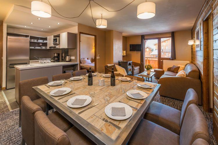 Appartementen Frankrijk | Rhone-alpes | Appartement te huur in Val-Thorens   met wifi 10 personen