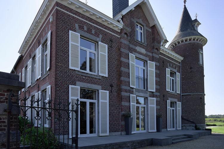 Kastelen Belgie | Luik | Kasteel te huur in Thimister-Clermont met zwembad  met wifi 14 personen