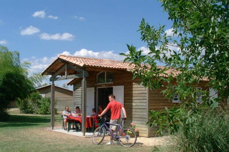Frankrijk | Dordogne | Chalet te huur in Castelmoron-sur-lot met zwembad   8 personen