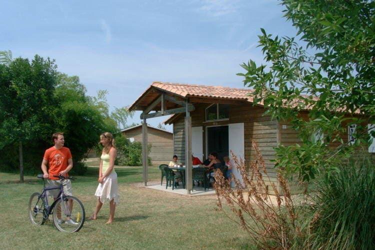 Frankrijk | Dordogne | Chalet te huur in Castelmoron-sur-lot met zwembad   6 personen