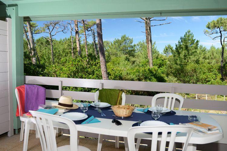 Vakantiehuizen Frankrijk | Cote-Atlantique | Appartement te huur in Moliets-et-maa met zwembad  met wifi 7 personen