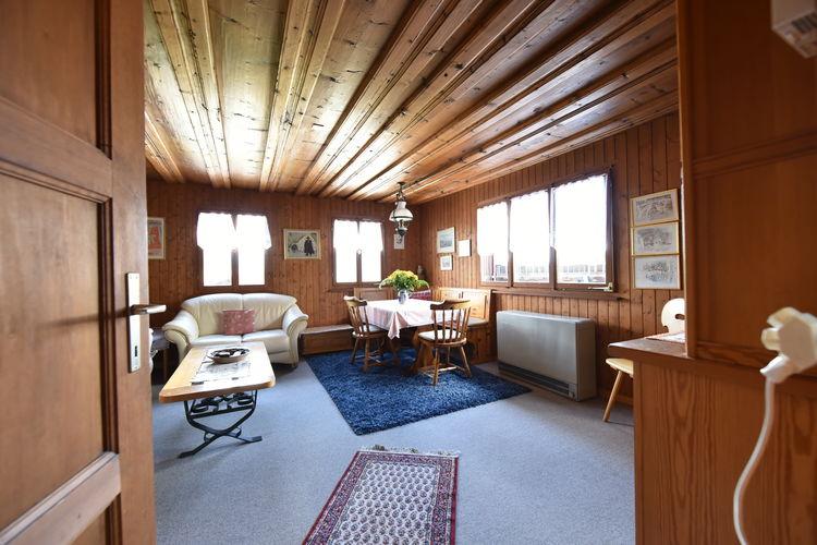 Vakantiehuizen Zwitserland | Graubunden | Appartement te huur in Obersaxen   met wifi 5 personen