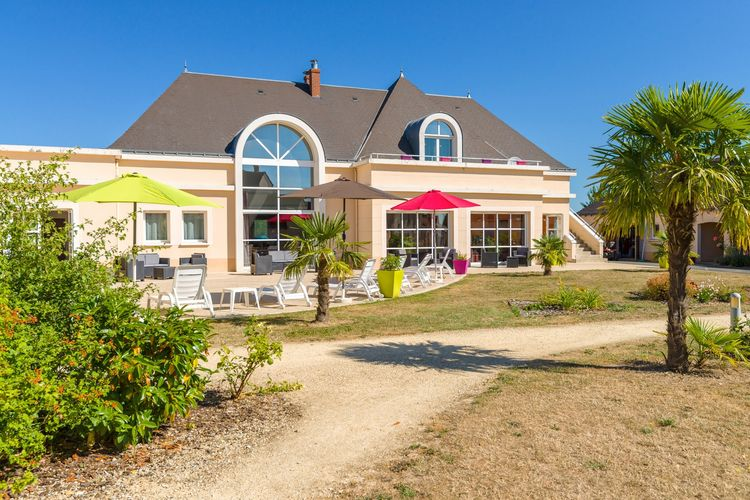 Woning Frankrijk | Region-Centre | Vakantiehuis te huur in Azay-le-Rideau met zwembad  met wifi 6 personen