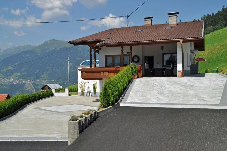 Kaunerberg Vakantiewoningen te huur Schitterend gelegen huis in de bergen boven Prutz.