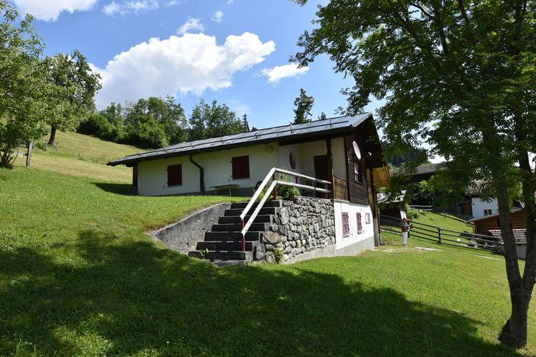Appartement    Dardin/Brigels  Vrijstaande vakantiewoning voor 5 personen, grote ligweide en vrij uitzicht