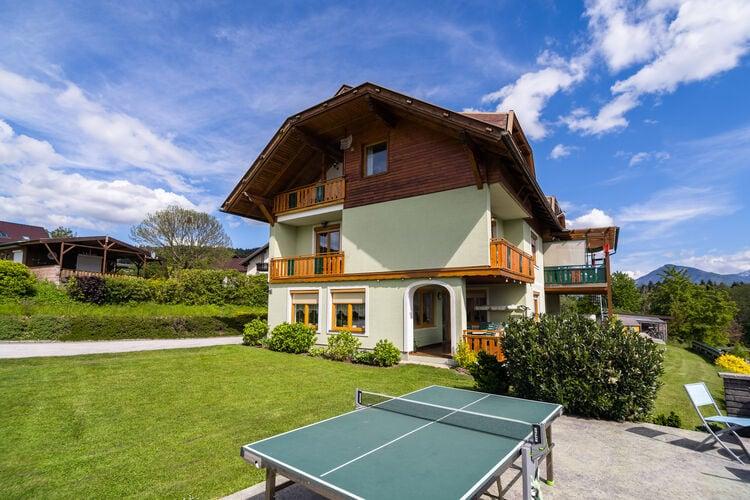 Oostenrijk | Kaernten | Appartement te huur in Ludmannsdorf met zwembad  met wifi 5 personen