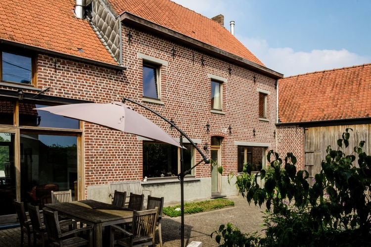 Belgie | Oost-Vlaanderen | Boerderij te huur in Michelbeke-Brakel   met wifi 7 personen
