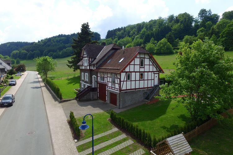 Willingen-Schwalefeld Vakantiewoningen te huur Mooi appartement in het Sauerland in de buurt van Willingen en de Diemelsee