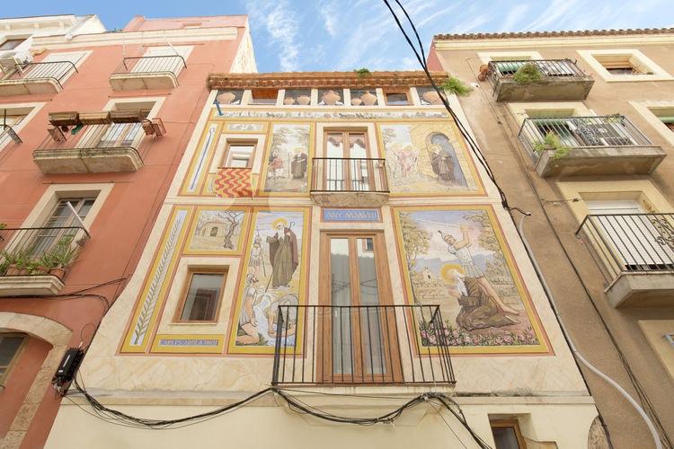 Appartement    Tarragona  Appartement in het oude stadscentrum van Tarragona