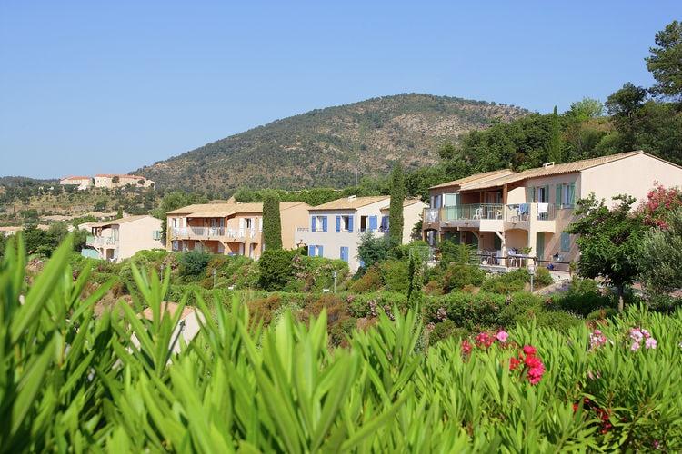 Les-Issambres Vakantiewoningen te huur Fris ingericht appartement op ruim vakantiepark met zwembaden nabij Saint-Tropez