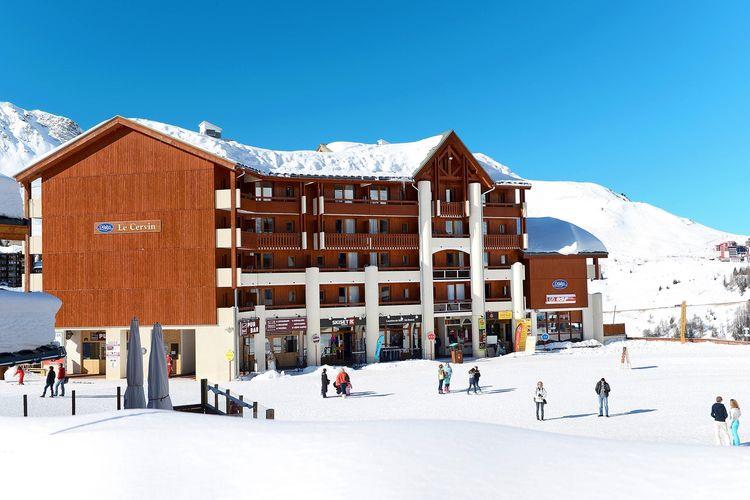 Vakantiehuizen Frankrijk | Rhone-alpes | Appartement te huur in Plagne-Soleil    5 personen