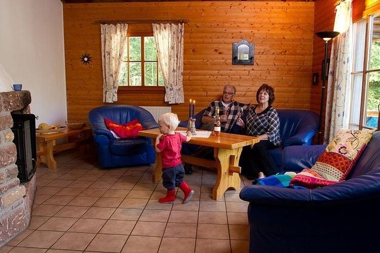 Ferienhaus Gemütliches Chalet mit Kamin in einem Waldgebiet (356200), Schönecken, Südeifel, Rheinland-Pfalz, Deutschland, Bild 5