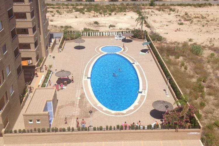 Costa del Azahar Vakantiewoningen te huur Appartement met gemeenschappelijk zwembad gelegen in Oropesa del Mar