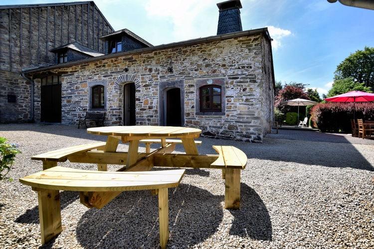 Vakantiehuizen Belgie | Luxemburg | Vakantiehuis te huur in Bihain-petites-Tailles   met wifi 8 personen