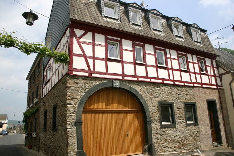 Duitsland | Moezel | Appartement te huur in Moselkern   met wifi 5 personen