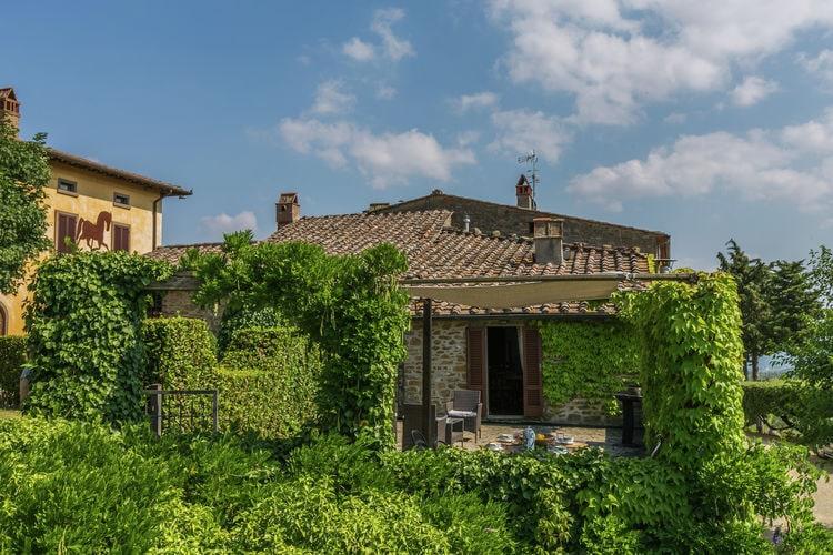 Civitella-in-val-di-Chiana Vakantiewoningen te huur Gastenverblijf in prachtige e authentieke borgo met zwembad, in de heuvels