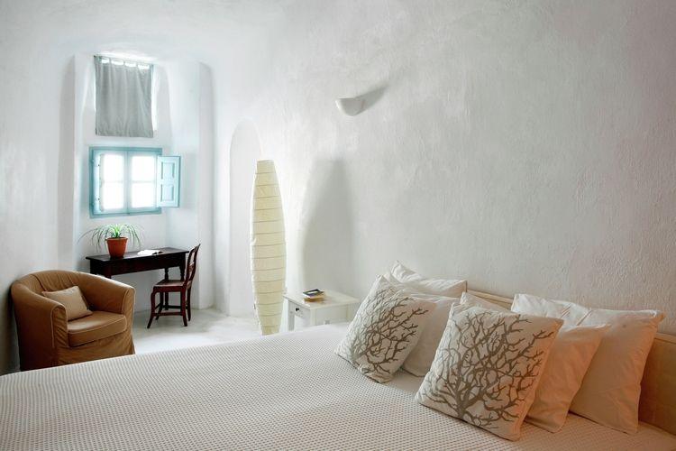 Ferienhaus Luxuriöse Villa mit Whirlpool in Megalochori Santorini (365026), Thira, Santorini, Kykladen, Griechenland, Bild 14