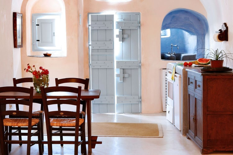Ferienhaus Luxuriöse Villa mit Whirlpool in Megalochori Santorini (365026), Thira, Santorini, Kykladen, Griechenland, Bild 11