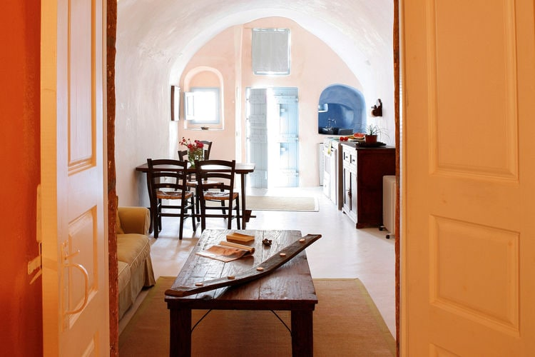 Ferienhaus Luxuriöse Villa mit Whirlpool in Megalochori Santorini (365026), Thira, Santorini, Kykladen, Griechenland, Bild 9