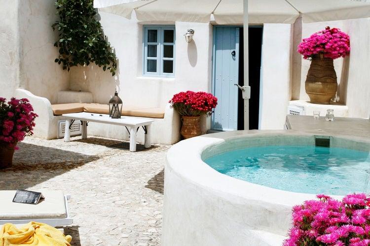 Griekenland | Santorini | Villa te huur in Megalochori   met wifi 4 personen