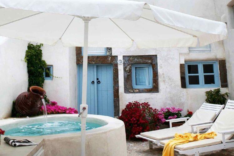 Ferienhaus Luxuriöse Villa mit Whirlpool in Megalochori Santorini (365026), Thira, Santorini, Kykladen, Griechenland, Bild 2