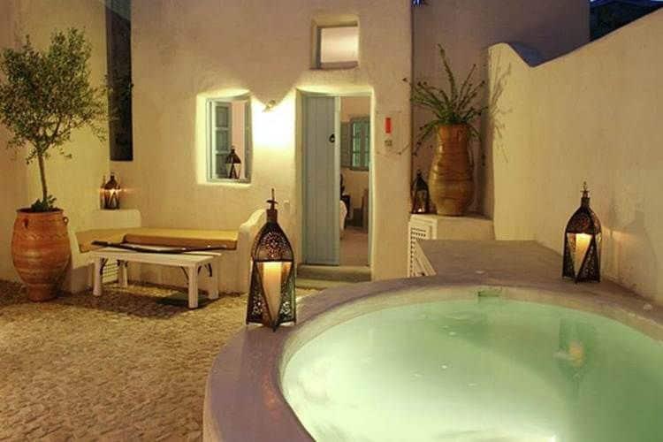 Ferienhaus Luxuriöse Villa mit Whirlpool in Megalochori Santorini (365026), Thira, Santorini, Kykladen, Griechenland, Bild 23