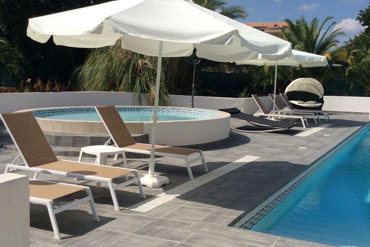 Ferienwohnung Geräumiges Appartement in Moriani-Plage mit Swimmingpool (398119), San Nicolao, Nordkorsika, Korsika, Frankreich, Bild 3