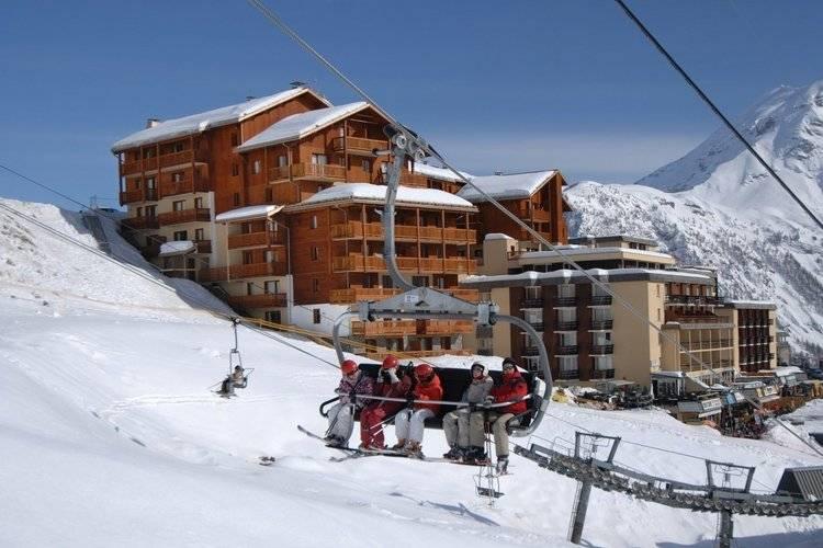 Rhone-alpes Appartementen te huur Appartement in residence met zwembad aan de piste in het gezellige Orcières Merlette