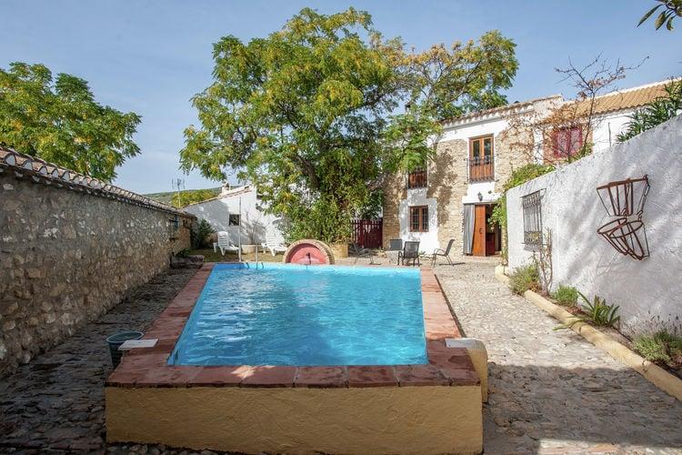 Spanje | Andalucia | Boerderij te huur in Fuentes-de-Cesna met zwembad  met wifi 6 personen