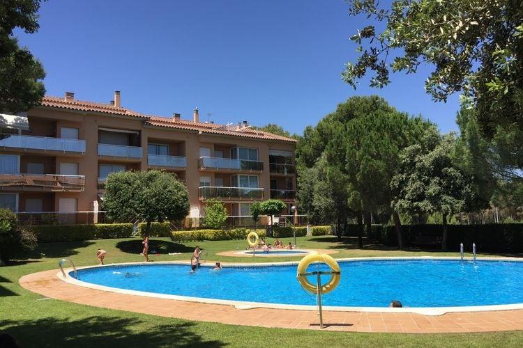 Appartement met zwembad met wifi  Playa de Pals  Puig Sa Guilla