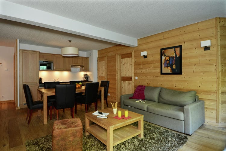 Appartement met zwembad met wifi  Vallorcine  Resort les Portes du Mont Blanc 6