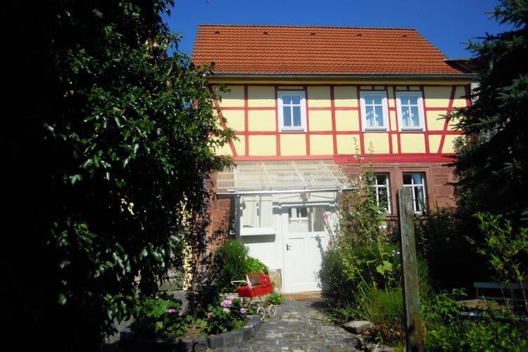 Duitsland | Thuringen | Vakantiehuis te huur in Kyffhauserland   met wifi 6 personen