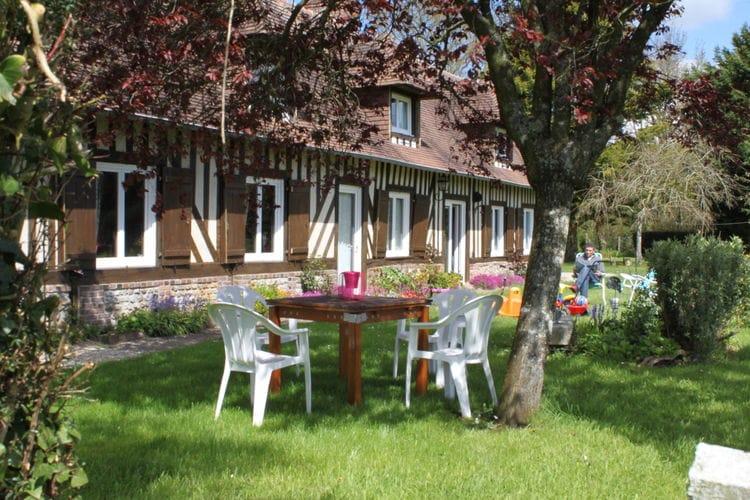 Normandie Vakantiewoningen te huur Karakteristiek vakwerkhuis met alle comfort en landelijke ligging nabij Lisieux