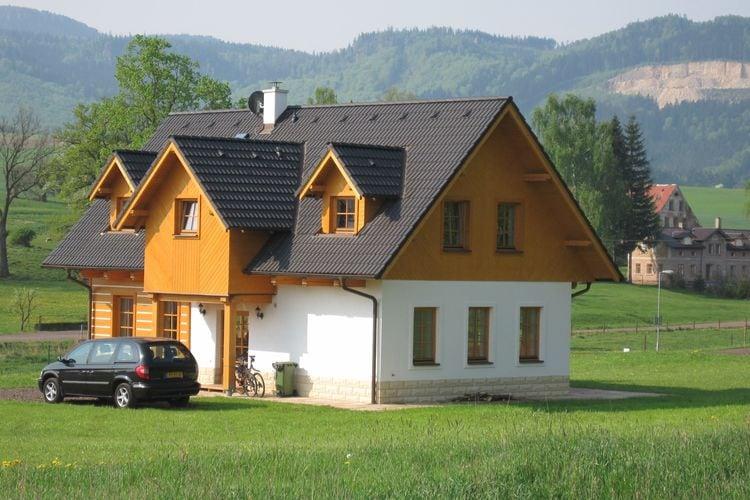 Vakantiehuizen Tsjechie | Reuzengebergte-Jzergebergte | Vakantiehuis te huur in Bozanov   met wifi 8 personen
