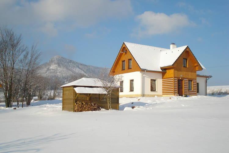 Vakantiehuizen Tsjechie | Reuzengebergte-Jzergebergte | Appartement te huur in Bozanov met zwembad  met wifi 5 personen